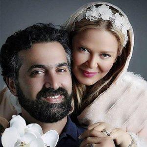 رفتارهای عجیب سلبریتی های ایرانی و همسرانشان جلوی دوربین! +عکس