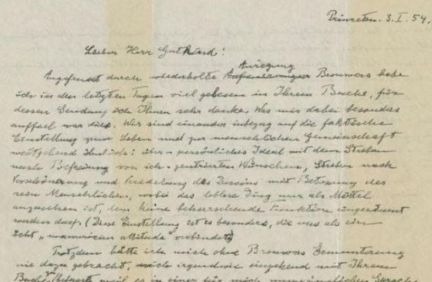 نامه انیشتین ۲.۹ میلیون دلار فروخته شد + عکس