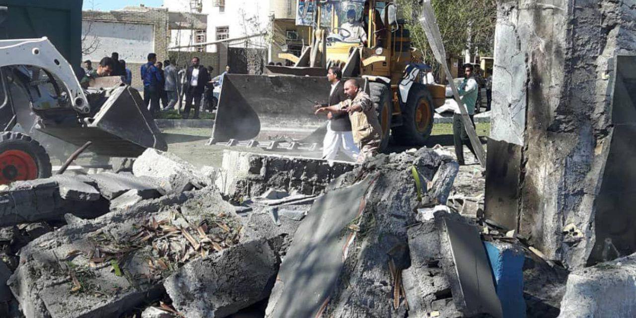 خرابیهای حمله تروریستی امروز صبح چابهار+عکس