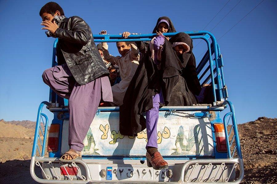 خطرناک ترین سرویس مدرسه ایران +عکس