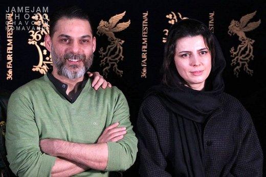 صحبتهای عاشقانه پیمان معادی با خانم بازیگر +عکس