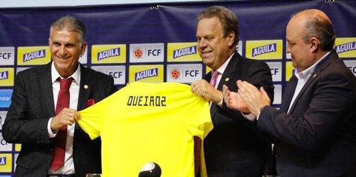 رقم قرارداد کی روش با تیم کلمبیا لو رفت +عکس