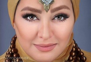 تصویر لو رفته از  الهام حمیدی و همسرش +عکس