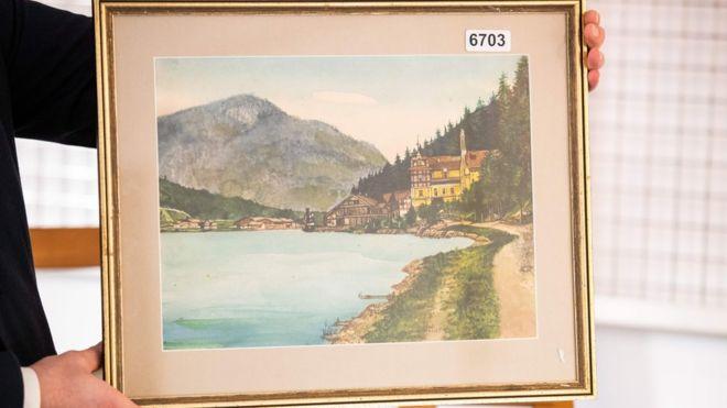 نقاشیهای هیتلر فروش نرفت +عکس