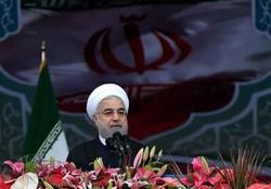 روحانی: برای ساخت موشک از کسی اجازه نگرفته و نمیگیریم