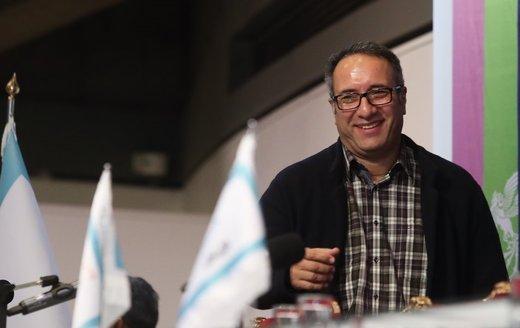 چهره خندان کارگردان معروف در راهپیمایی ۲۲ بهمن +عکس