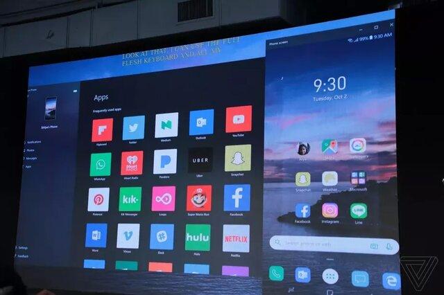 اپلیکیشنهای اندرویدی به ویندوز ۱۰ میآیند!