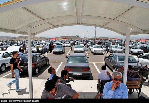 ریزش ساعت به ساعت قیمت خودروهای داخلی