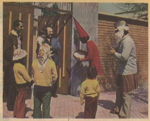 نوروز ۵۰ سال قبل در تهران قدیم +عکس