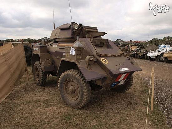با 19 خودروی نظامی عجیب تاریخ آشنا شوید! +تصاویر