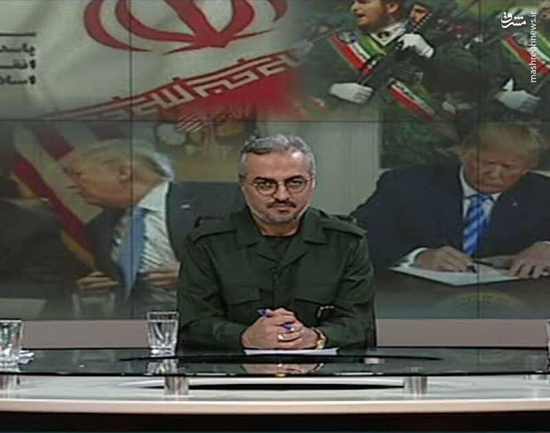 مجری شبکه خبر هم لباس سپاه پوشید +عکس