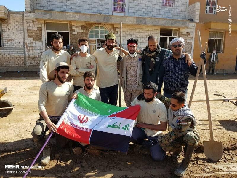 نیروهای عراقی مقاومت در پلدختر +عکس
