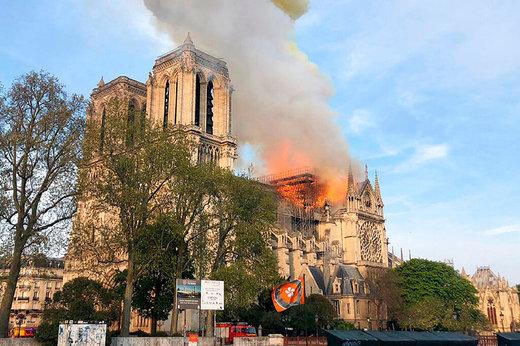 چرا با آتشسوزی کلیسای نوتردام دنیا به شوک فرو رفت؟