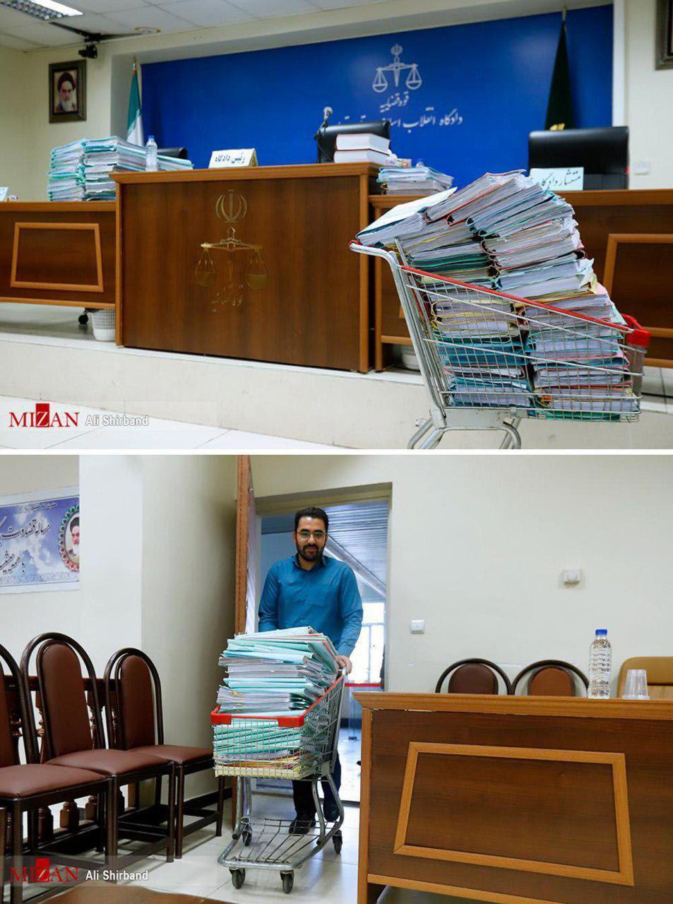 تصویری عجیب از حجم پروندههای چهارمین دادگاه تعاونیهای البرز ایرانیان