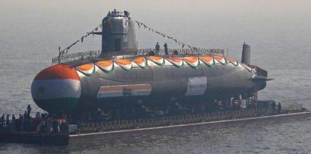 سوتی خنده دار هند در یک زیردریایی سه میلیارد دلاری +عکس