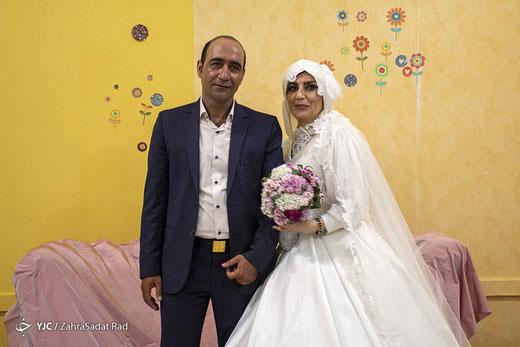 عکسهای جالب از ازدواج دو کارتن خواب بهبود یافته