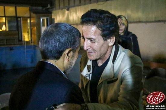 رضا رویگری و ابوالفضل پورعرب در مراسم افطاری احمدینژاد +عکس