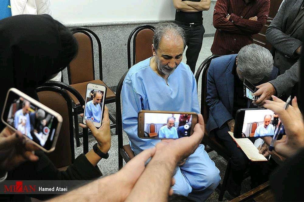 پشیمانی شهردار  در دادسرای امور جنایی + عکس