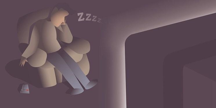 مقابل تلویزیون نخوابید؛ چاق میشوید!