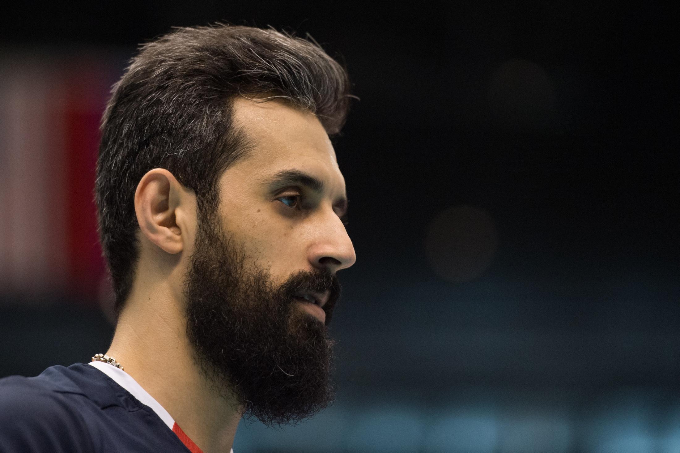 والیبال نشسته سعید معروف +عکس