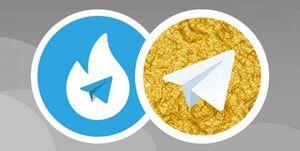 تلگرام در حال سقوط  + عکس