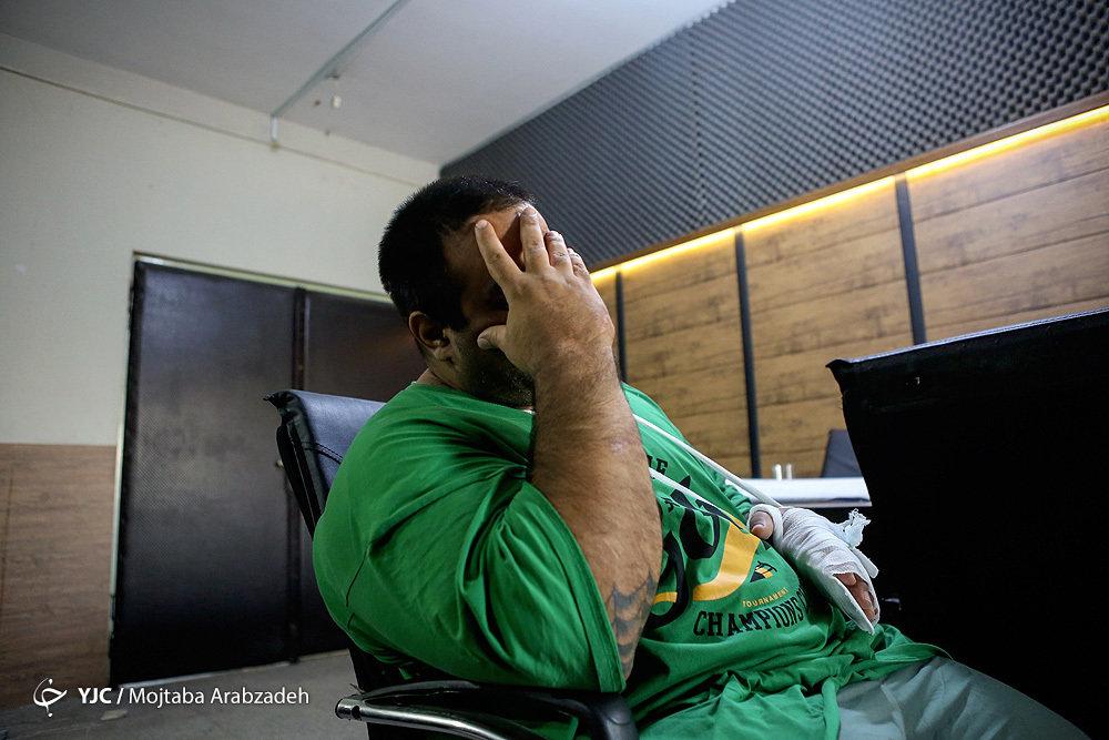 غول تهران به دام افتاد +عکس