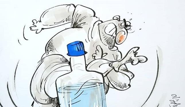 چه میکنه این چالش بطری! +عکس