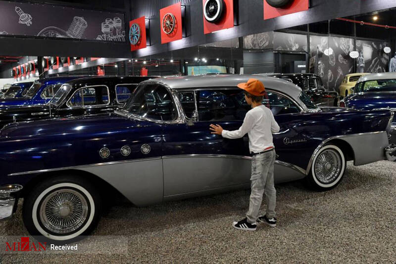 دورهمی خودروهای آنتیک در روسیه +عکس