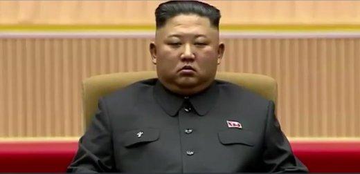 چرت زدن رهبر کره شمالی در مراسم رسمی سوژه شد +عکس
