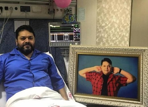 خواننده مشهور دوباره در بیمارستان بستری میشود
