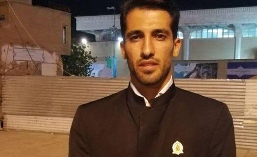 فوتبالیست معروف در لباس خادمی حرم حضرت معصومه +عکس