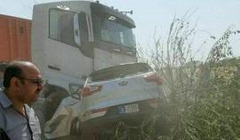 پنج عضو یک خانواده در حادثه رانندگی کشته شدند +عکس