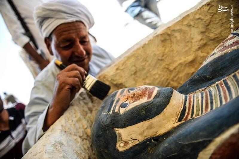 قدیمیترین اهرام مصر بازگشایی شد +عکس
