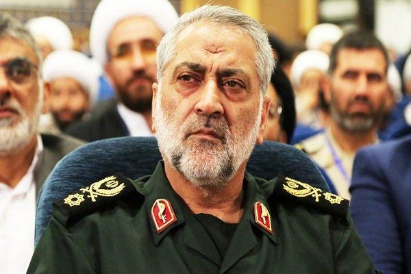 سردار شکارچی سرنگونی پهپاد ایرانی توسط ناو آمریکایی را تکذیب کرد