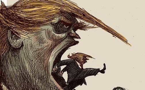 اینم اُردنگی جدید ترامپ! +عکس