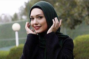 وقتی خانم بازیگر چادر سَر میکند +عکس