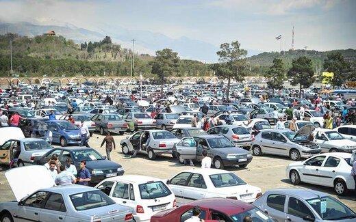 تداوم ریزش قیمت در بازار خودرو +جزئیات