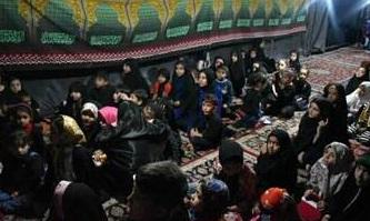 حرکت زیبای عزاداران حسینی در کاشمر +عکس