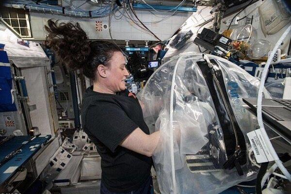 سیمان در فضا تولید شد/ محافظت در برابر اشعههای فضایی