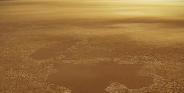 دریاچههای تایتان با انفجار نیتروژن شکل گرفته است