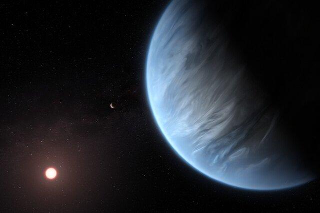 کشف آب برای اولین بار در یک سیاره با احتمال حیات