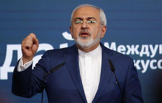 ظریف اقدامات دیپلماتیک وصلحآمیز ایران در سالهای گذشته را برشمرد