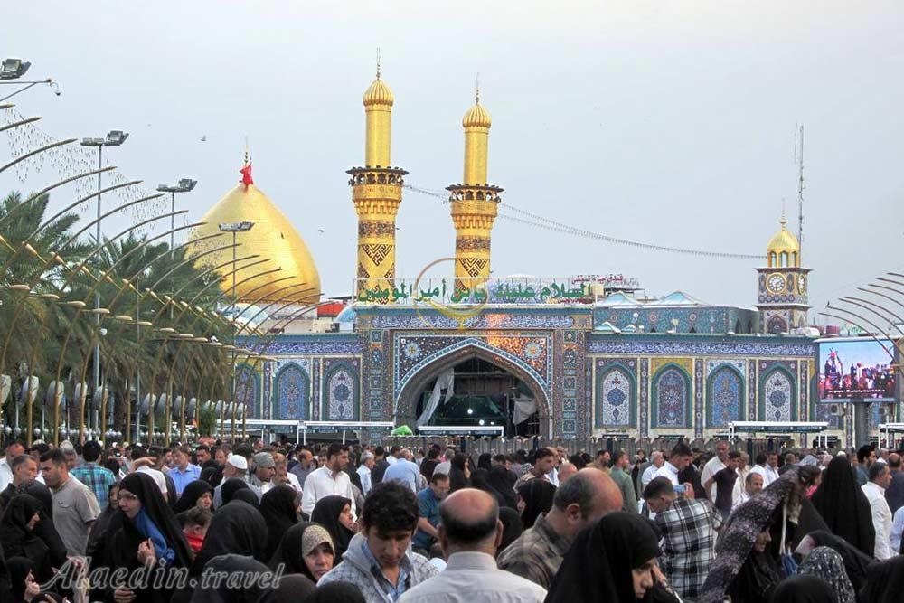 تصویری ناب از حرم حضرت عباس (ع) +عکس