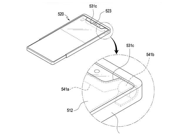 سامسونگ حق امتیاز موبایل با نمایشگر انعطاف پذیر را ثبت کرد