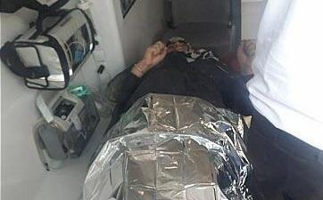 سقوط یک زن به چاه پمپ بنزین آزادگان +عکس