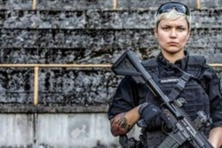 این زن جوان محافظ شخصی یک رئیس جمهور است +عکس