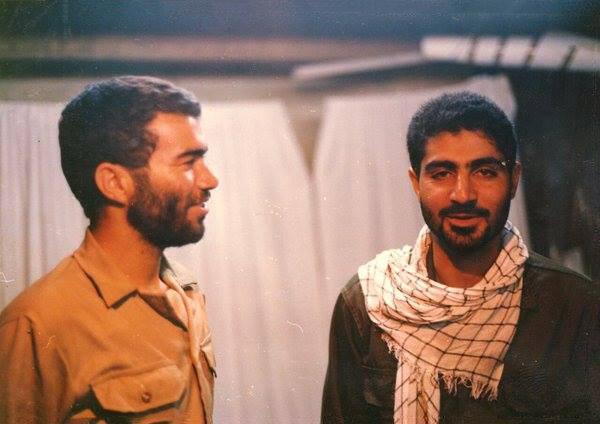 سردار سلیمانی و دریادار فدوی در جوانی +عکس