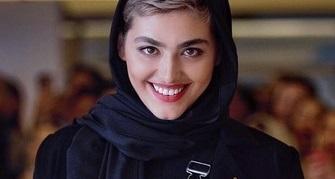 خانم بازیگر در خانههای قدیمی دبی +,عکس