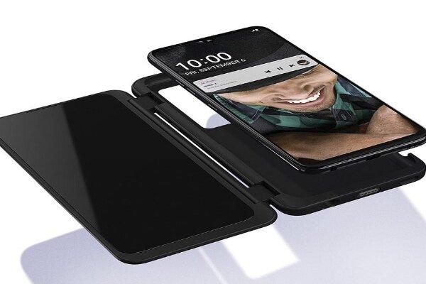 ال جی موبایلی با نمایشگر ثانویه به بازار عرضه میکند