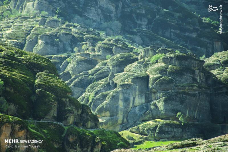 طبیعت زیبای مخمل کوه لرستان +عکس